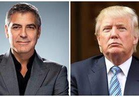 George Clooney arremetió contra el candidato a la presidencia de Estados Unidos por el Partido Republicano, Donald Trump. (Foto Prensa Libre: Hemeroteca PL)