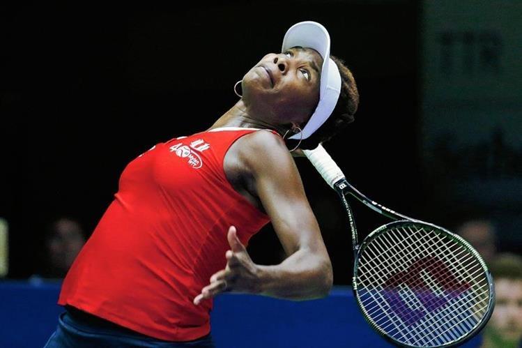 Venus perdió prematuramente en Estambul. (Foto Prensa Libre: Hemeroteca)