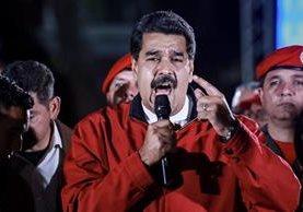 Trump y su administración habían advertido a Maduro de que tomarían acciones fuertes e inmediatas si no desistía en el proceso de la Asamblea Constituyente. (Foto Prensa Libre: EFE)
