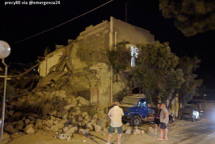 Varios edificios antiguos sufrieron daños por el sismo.