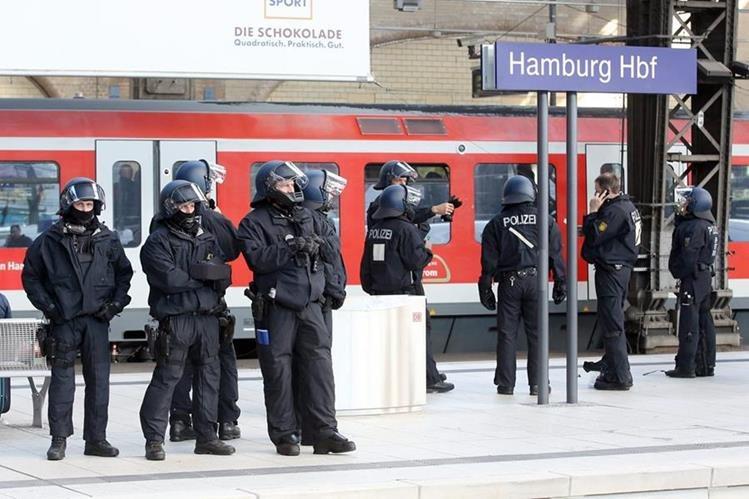 Alemania busca asegurar su territorio con más agentes. (Foto Prensa Libre: EFE)
