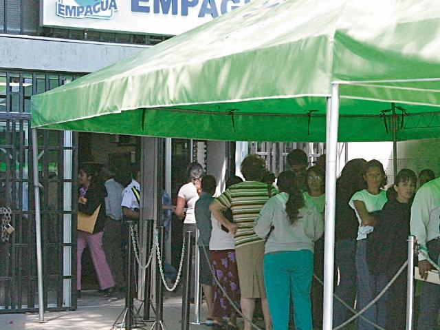 Empagua utiliza un fideicomiso para agilizar los servicios a los vecinos, argumenta la comuna.