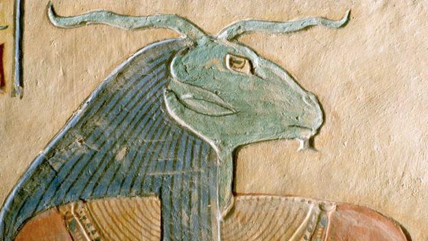 Amón-Ra era el rey de los dioses, pero eso no lo protegió de la modernización que se propuso Akenatón. GETTY IMAGES