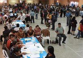 Sesión del consejo permanente fue suspendido por ho haber resultados sobre votaciones. (Foto Prensa Libre: Hemeroteca PL)