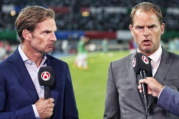 Ronald y Frank de Boer, exjugadores de la selección de Holanda. (Foto Prensa Libre: Hemeroteca PL)