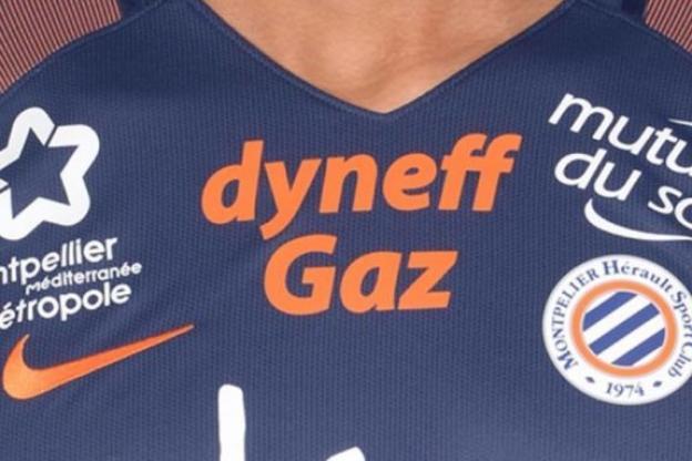 Este es el diseño de la camisola del Montpellier para la temporada 2017-2018. (Foto Prensa Libre: Redes)