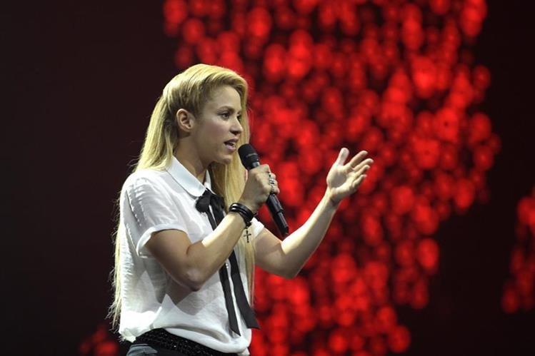 La cantante colombiana Shakira participó en el Global Citizen Festival para hacer un llamado a los líderes mundiales que se reunieron en el G20 (Foto Prensa Libre, AP)