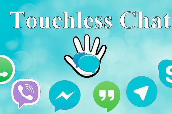Touchless Chat es una de las pocas aplicaciones con accesibilidad, es ideal para las personas ciegas o que tienen un resto visual poco funcional. (Foto Prensa Libre Hemeroteca).