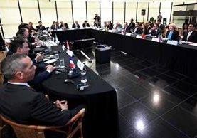 Rodrigo Janot, Procurador General de Brasil, se reúne con colegas de 11 países latinoamericanos.(AFP).
