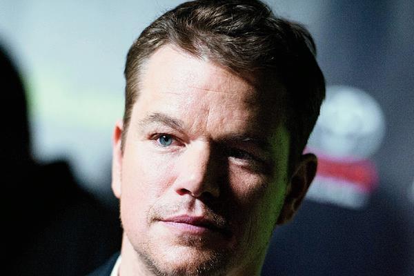 Damon, de 44 años, es una de las caras más conocidas de Hollywood. (Foto Prensa Libre: AP)