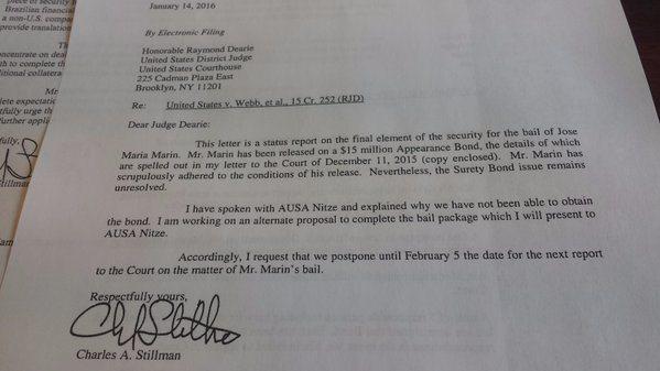 Esta es la solicitud del expresidente de la Confederación Brasileña de Futbol. (Tomada de Internet)