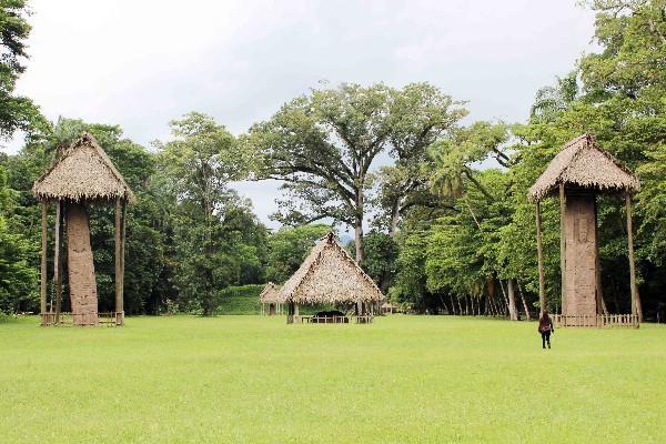 monolitos revelan   historia de antigua ciudad que habitó el valle del Motagua.
