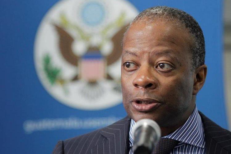 Tood Robinson, embajador de EE.UU. (Foto Prensa Libre: Hemeroteca PL)