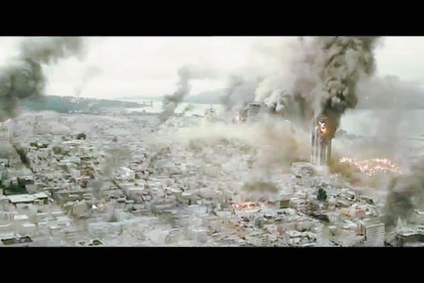Aunque ha sido un tema recurrente en el cine, el latente peligro de un devastador terremoto en Los Ángeles, California, siempre atrae el interés de los cinéfilos. Foto: Hemeroteca PL.