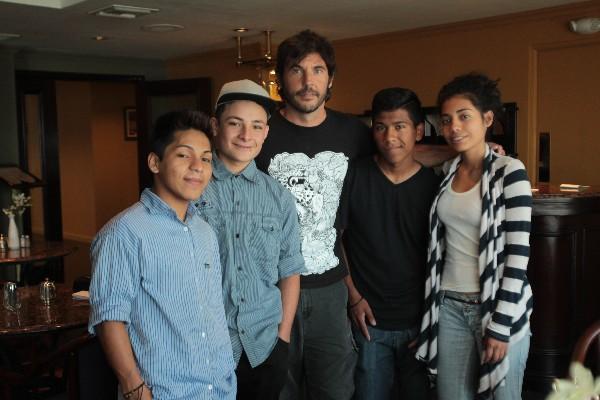 CArlos Chajón, Brandon López, Diego Quemada-Diez, Héctor Tahuilé y Karen Martínez  participan en la cinta.