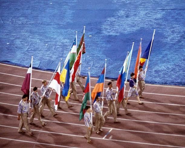El equipo unificado de las repúblicas que formaban parte de la Unión Soviética participó en Barcelona 1992. (Foto: Hemeroteca PL)