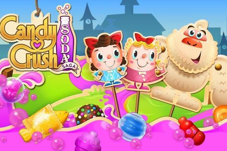 Candy Crush es uno de los juegos más populares, sin embargo detrás de el podría estar un troyano que afecte el funcionamiento de su dispositivo móvil. (Foto Prensa Libre: Hemeroteca PL).
