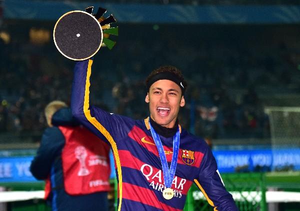 Neymar conquistó el Mundial de Clubes recientemente. (Foto Prensa Libre: AFP)