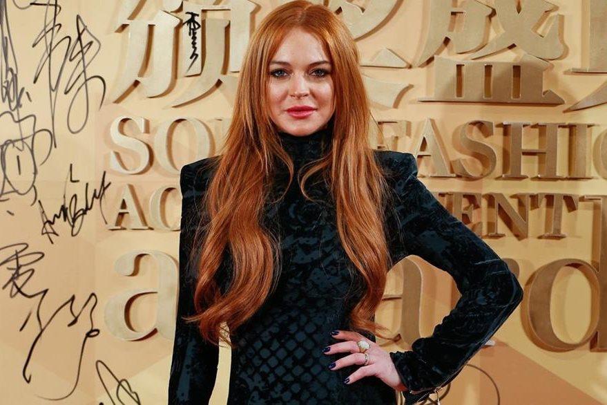 Lindsay Lohan.