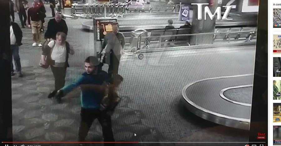 Captura del video publicado por el portal TMZ.