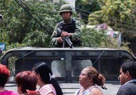 Autoridades de Acapulco, Guerrero, México, ordean vigilancia ante repunte de violencia. (AFP)