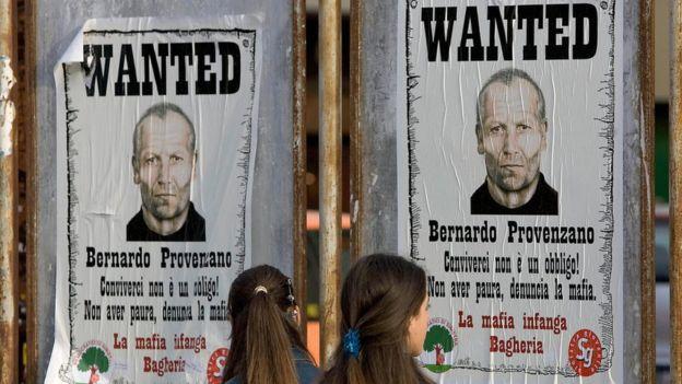 Bernardo Provenzano, uno de los jefes de la Cosa Nostra, fue detenido en 2006, luego de pasar 42 años como fugitivo. GETTY/FABRIZIO VILLA