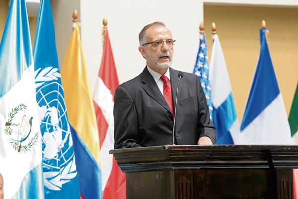 Iván Velásquez,  actual jefe de la Comisión Internacional Contra la Impunidad en Guatemala (Foto Prensa Libre: Hemeroteca)