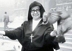 Sor María Romero en Italia, en 1969. (Foto: Internet)