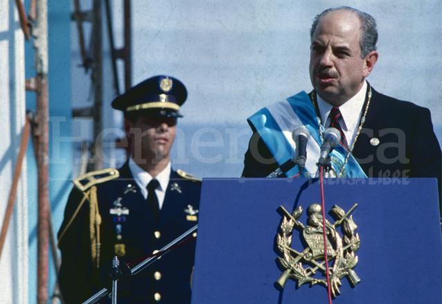 Jorge Serrano Elías fue presidente de 1991 a 1993 sin concluir el periodo constitucional de cinco años. (Foto: Hemeroteca PL)