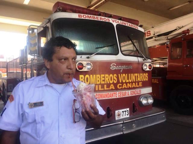 William González, portavoz de los Bomberos Voluntarios. (Foto Prensa Libre: cortesía)