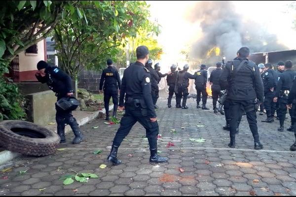 Operativo policial en San Pablo, San Marcos, durante el cual se capturó a Fausto Sánchez. (Foto: Foto: HemerotecaPL).