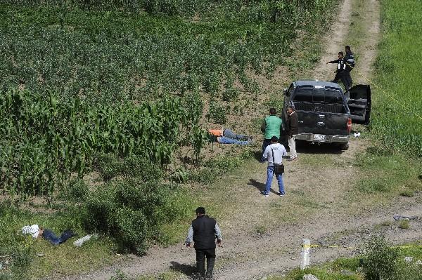 Xaltepec, Axapusco del Estado de México se localizó cuatro personas sin vida. (EFE)