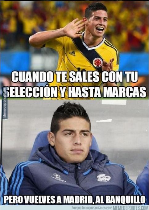 Llegan los memes del Clásico Español