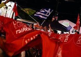 Syriza se convirtió en la única alternativa de izquierda que llegó al poder en Europa después del crack de 2008. GETTY IMAGES