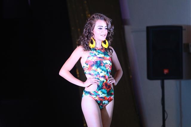 Adela Herrera, 18 años y representa a Fraijanes. (Foto Prensa Libre: Álvaro Interiano)