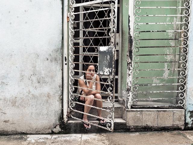 Jaime Permuth retrata el mundo cotidiano, cultural, artístico y familiar de Cuba. (Foto Prensa Libre: Jaime Permuth)