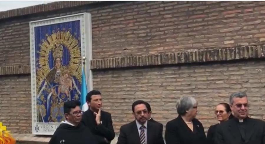 Develan mosaico en honor a la Virgen del Rosario en El Vaticano