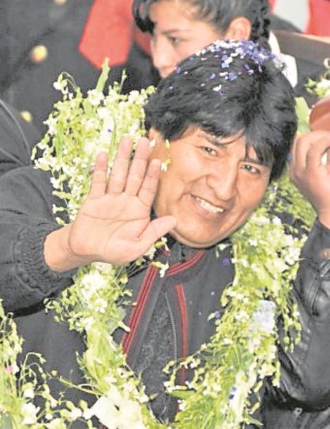 Evo Morales, presidente de Bolivia. (Foto: Hemeroteca PL)