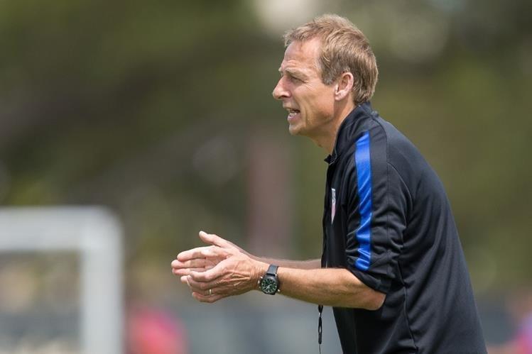 El técnico alemán Jürgen Klinsmann oficializó la lista de jugadores para amistoso contra Puerto Rico. (Foto Prensa Libre: Ussoccer.com)