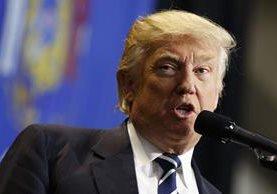 Donald Trump asumirá la presidencia de EE. UU. el 20 de enero del 2017. (Foto Prensa Libre: AP).