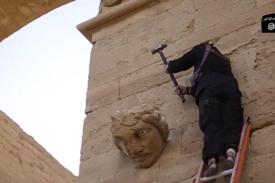 Se teme que los yihadistas destruyen el patrimonio de Palmira como lo hicieron en Mosul. (Foto Prensa Libre: AP).