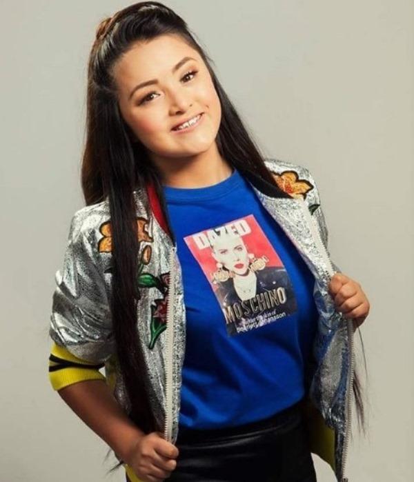 La joven quinceañera Rubí Ibarra espera lanzar su primer sencillo en marzo próximo, según publica en las redes sociales.(Foto Prensa Libre: Instagram)