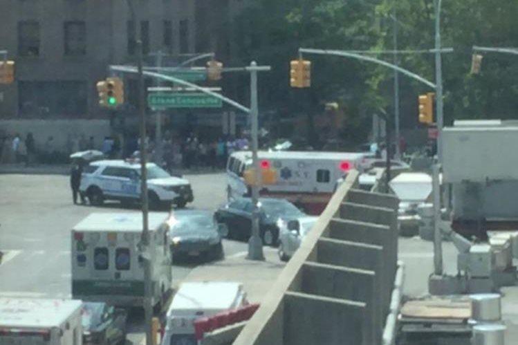 La balacera se registró en el interior de un hospital localizado en el Bronx, Nueva York. (Foto Prensa Libre: Nueva York)