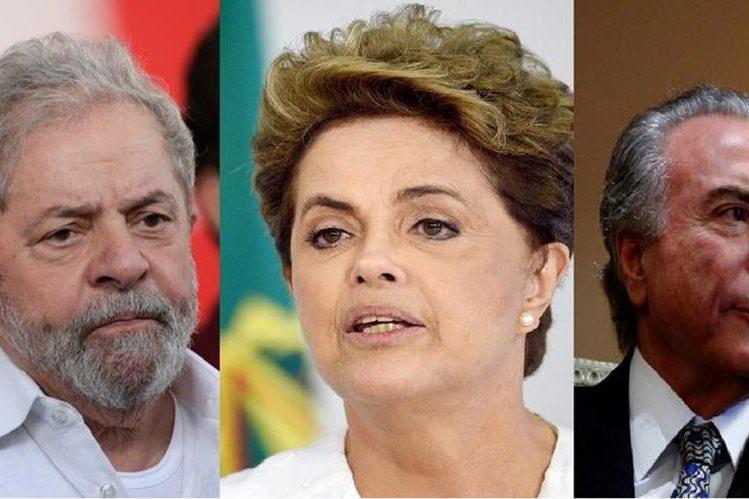 <span>&nbsp;Corte suprema incluye menciones a Lula da Silva, Dilma Rousseff y Michel Temer. en caso Petrobras(EFE/AFP/AP)</span>