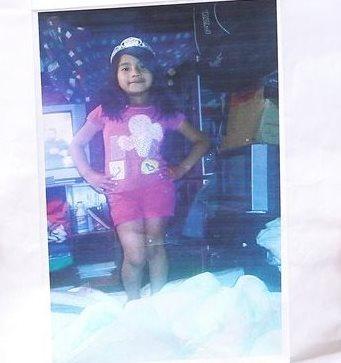 Una fotografía de Yuliana Andrea Samboni Muñoz, de 7 años, raptada en el barrio Bosque Calderón y posteriormente torturada y asesinada. (Foto Prensa Libre: EFE).