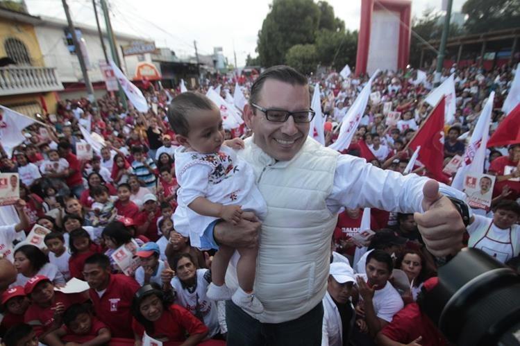 Un mes antes de las elecciónes al Partido Libertad Democrática Renovada se le prohibió continuar con su campaña. (Foto Prensa Libre: Hemeroteca PL)
