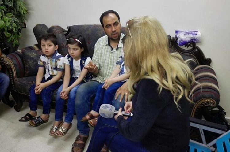 El menor de 5 años sobrevivió a un bombardeo en el 2016 en Alepo. (Foto Prensa Libre: Kinana Allouche)