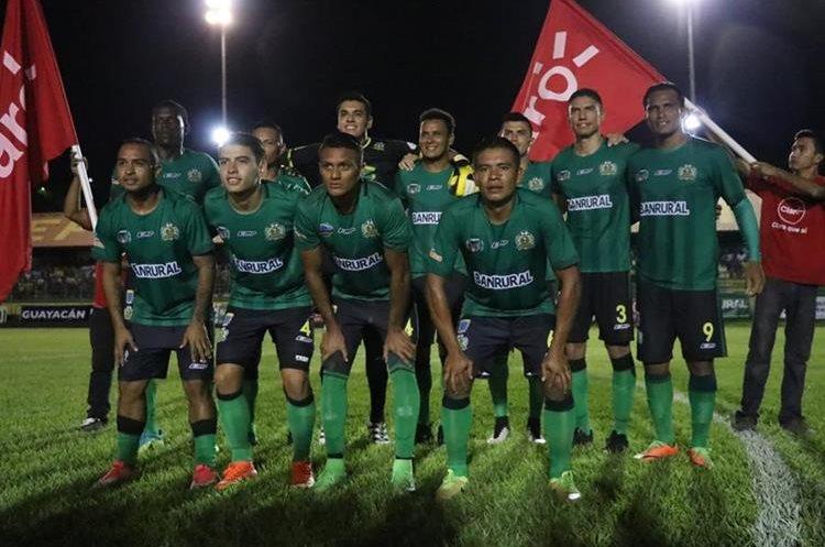 Guastatoya se alista para encarar el torneo Apertura 2017. (Foto Prensa Libre: Hugo Oliva)
