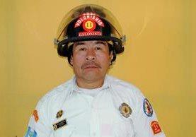 El bombero Aparicio Román murió atacado a balazos el 27 de febrero de 2014, en Santa Cruz del Quiché, Quiché. (Foto Prensa Lilbre: Óscar Figueroa)