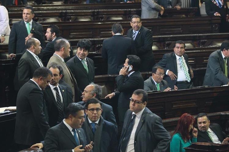 Los bloques parlamentarios de la UNE y FCN-Nación están de acuerdo con readecuación presupuestaria. (Foto Prensa Libre: Hemeroteca PL)